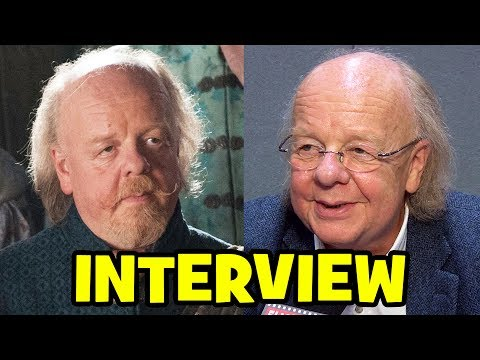 GAME OF THRONES Mace Tyrell Interview - Roger Ashton-Griffiths