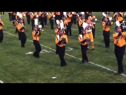 Sylvania Northview marching band 8/28/15 at Waite High School (song #3)