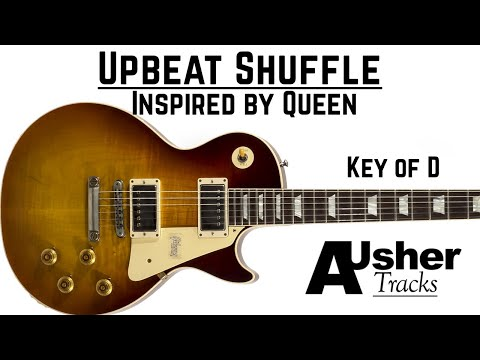 Rock N Roll Shuffle In D Major | Guitar Backing Track