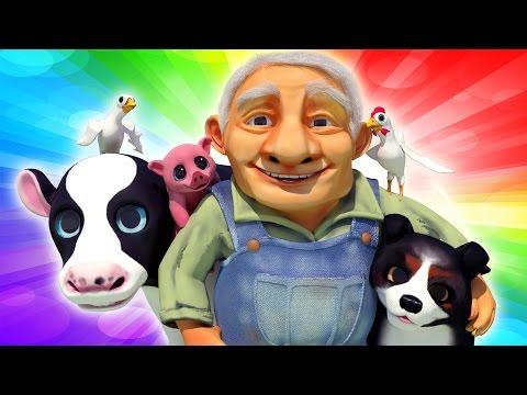 Old MacDonald Had a Farm | Kid's tv Songs | New Nursery Rhymes