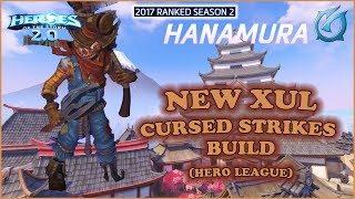 Grubby | Heroes of the Storm 2.0 - New Xul - Cursed Strikes Build - HL 2017 S2 - New Hanamura