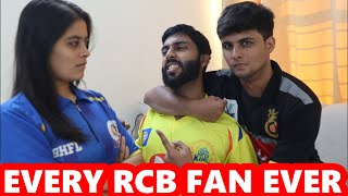 Every RCB Fan Ever - IPL 2020 - Royal Challengers Bangalore