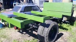 ГАЗ 51 1964 г.в. Строительство нового кузова. 2018г.