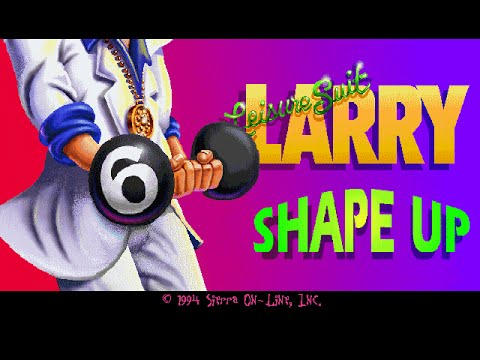 "Leisure Suit Larry 6 (PC/DOS) Longplay, 1994, Sierra On-Line ""CD Version"""