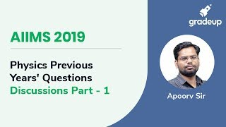 AIIMS 2019 | Physics Previous Year Questions Discussions Part - 01