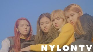 NYLON JAPAN 1月号 【BLACKPINK】表紙スペシャルムービー