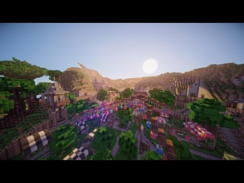 Minecraft: The Roleplay World - Building - Trading Post