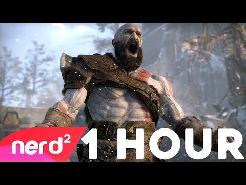 God Of War Song | Rage Inside | #NerdOut ft Rockit Gaming [ 1 HOUR ]