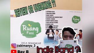 Review or unboxing ?? album by ruang fiksi | #bibd