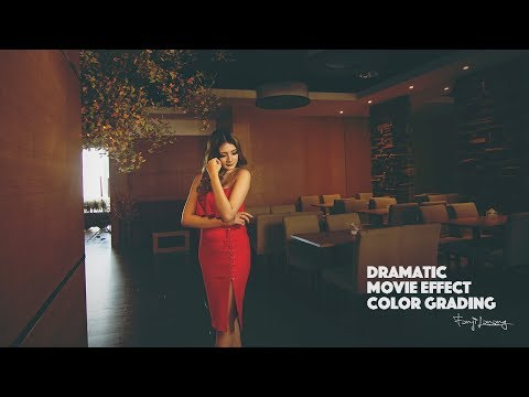 Dramatic Movie Color Effect Photoshop Tutorial thumbnail