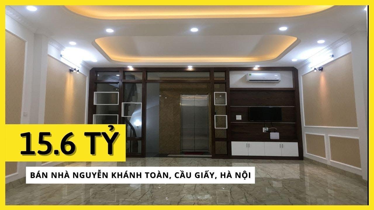 image Bán nhà Nguyễn Khánh Toàn, Cầu Giấy. Kinh doanh đỉnh Mb 55m2, 6Tầng, Thang Máy | Giá 16.2 Tỷ