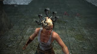 Path of Exile: Gorgon Snakes Helmet Attachment