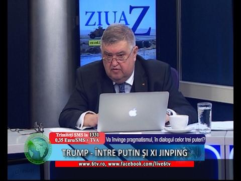 ZIUA Z 2017.02.09 - TRUMP - ÎNTRE PUTIN ŞI XI JINPING