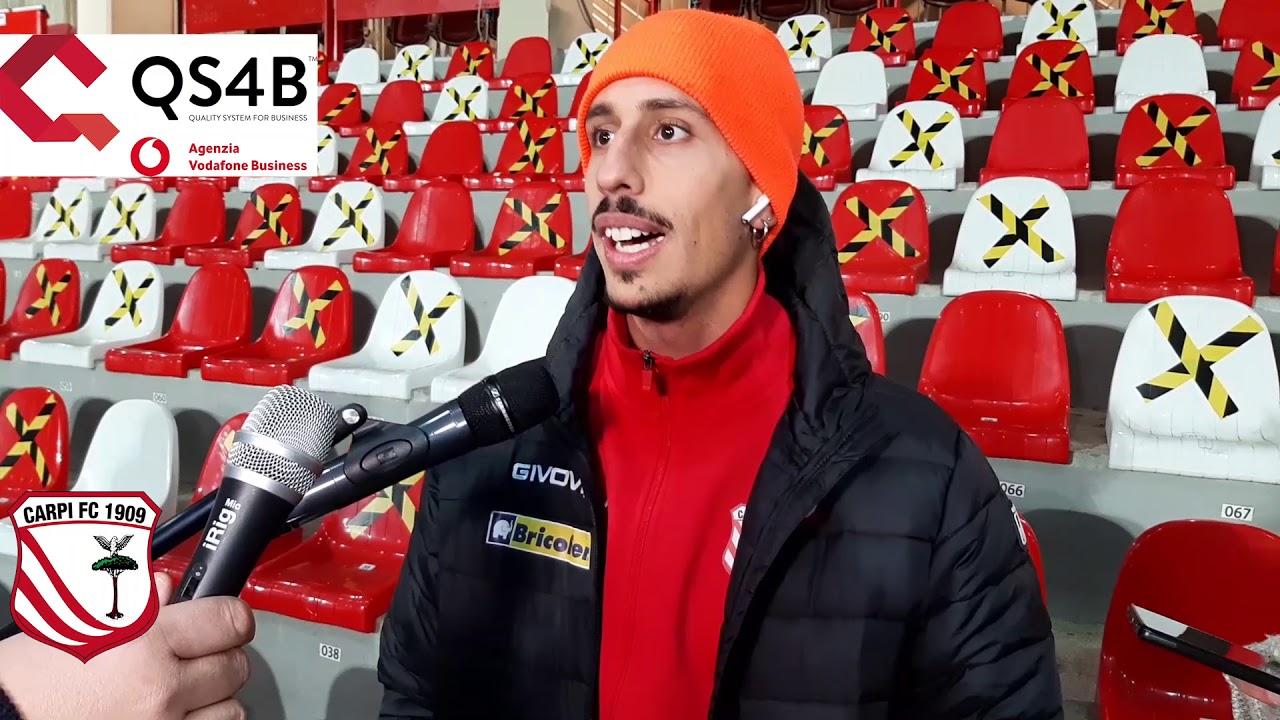 Carpi-Ravenna 4-2, Matteo Lomolino: