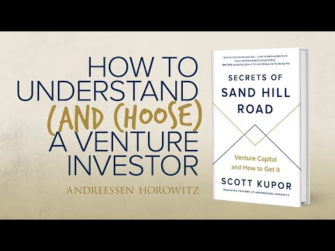 How To Understand And Choose A Venture Investor