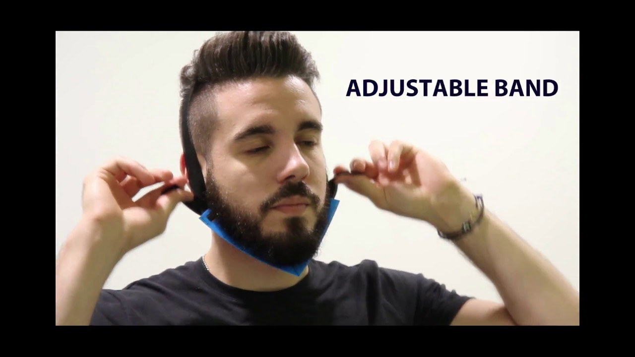 How To Trim A Beard Neckline Perfectly In 1 Min 2 2 Youtube