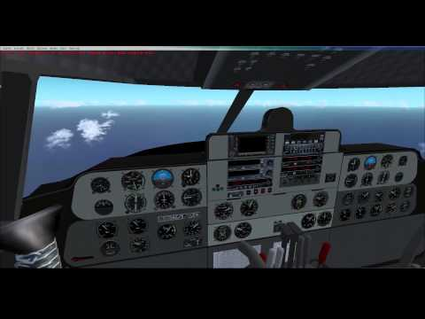 FSX - Buffalo Airways French Polynesia Tour - C-46 Commando - Leg 13