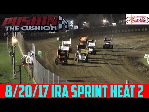 Angell Park Speedway - 8/20/17 - IRA Sprints - Heat 2