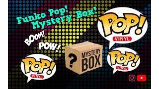 Funko Pop! Mystery box.