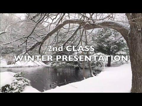 2nd Class Winter Presentation