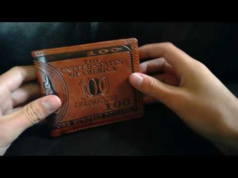$100 Bill Wallet For $2? Unboxing
