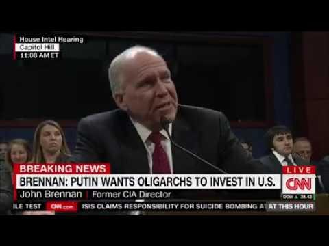 Congresswoman Speier Questions former CIA Director Brennan in HPSCI Russia hearing