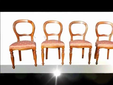 Campionario di sedie artigianali classiche in stile antico arte ...