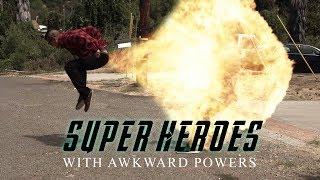 SUPERHEROES WITH AWKWARD POWERS | David Lopez