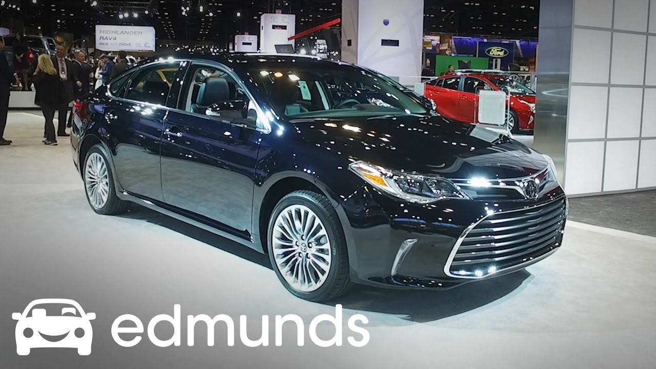 2017 toyota avalon review features rundown edmunds youtube. Black Bedroom Furniture Sets. Home Design Ideas