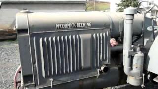 1929 McCormick-Deering 22-36 Start and Run