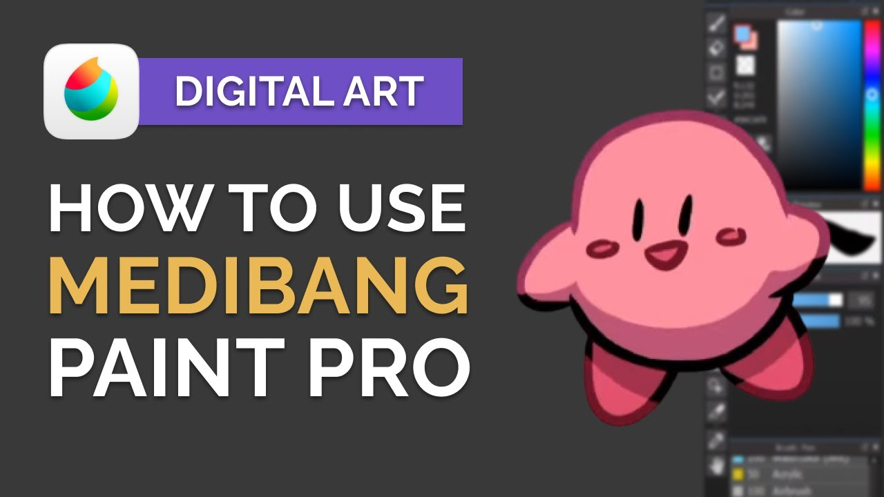How to Use MEDIBANG Paint Pro: Digital Art Tutorial for BEGINNERS (Step by Step)