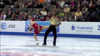 Danielle Gamelin and Alexander Gamelin, 2013 U.S. Figure Skating Championships, Free Dance
