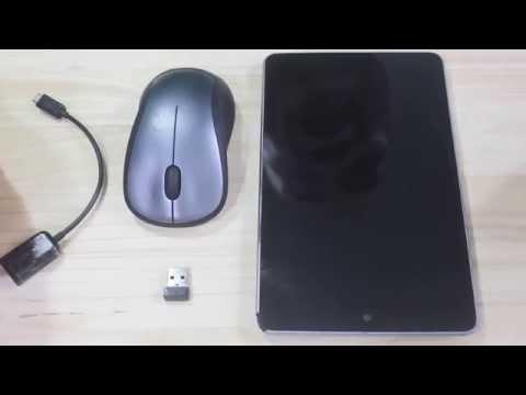 Sử dụng chuột không dây trên Android với cáp OTG
