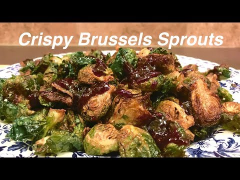 The SECRET to CRISPY brussels sprouts