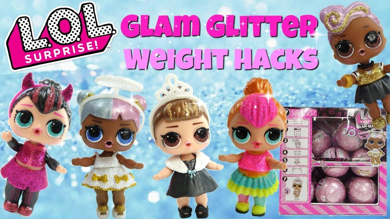 Lol Surprise Glam Glitter Weight Hacks Neon Qt Dj It Baby Sugar