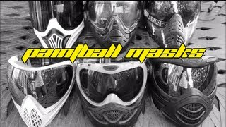 Paintball Masks - How To Choose The Right Mask For You