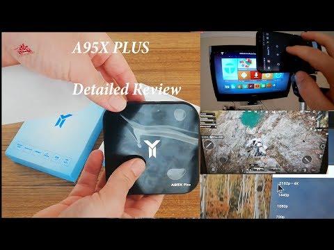 A95X PLUS | PUBG TEST | REVİEW |  4K Smart Tv Box