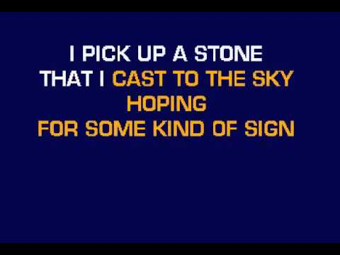 Jones, Norah - Lonestar - Real Karaoke with lyrics