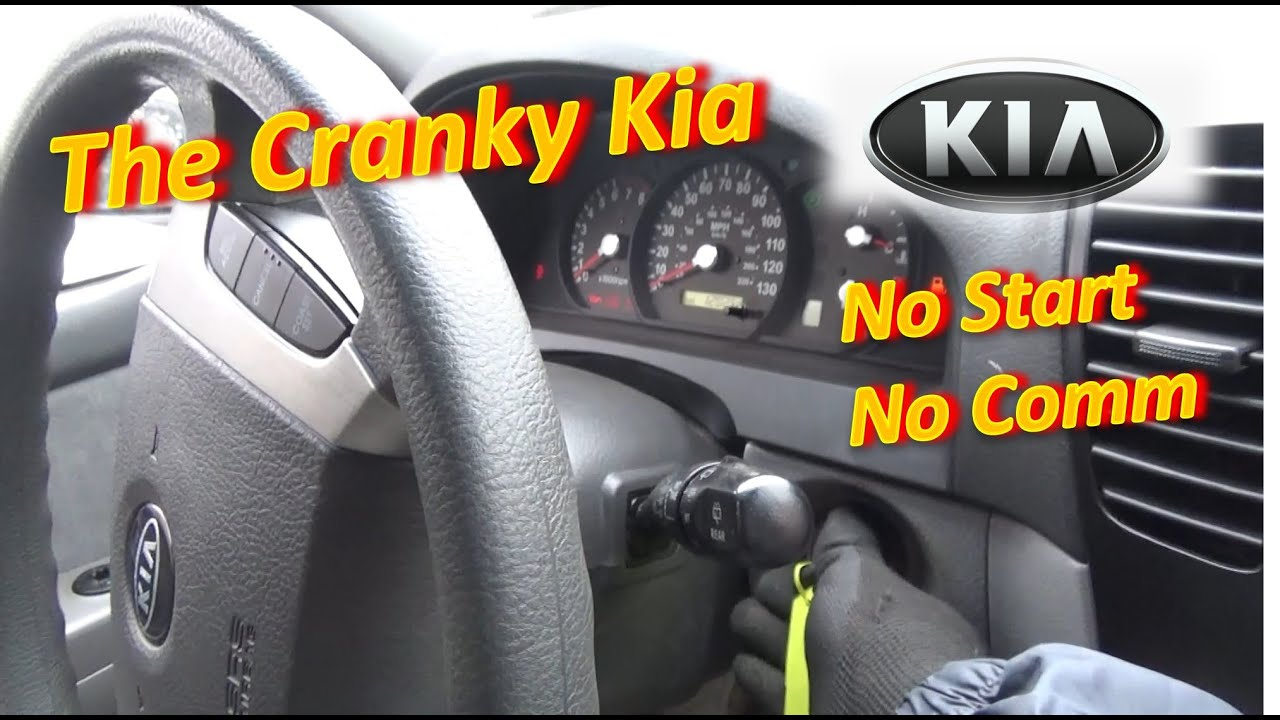 The CRANKY KIA (No Start, No Comm)