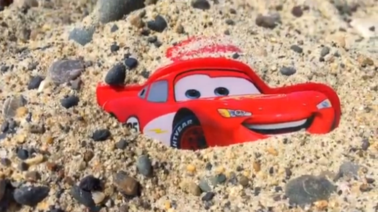 Disney Cars Toys Lightning Rayo Mcqueen Carros Juguetes Coches
