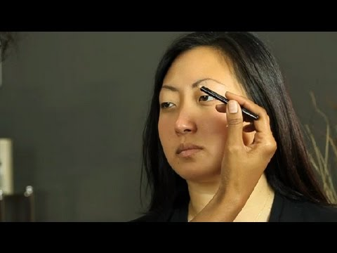 how to apply eyebrow pencil for black hair makeup basics