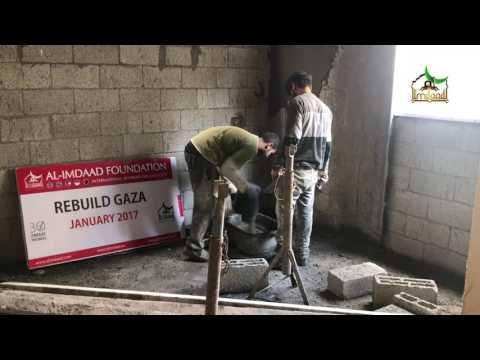 Rebuild Gaza - Project Update APRIL 2017