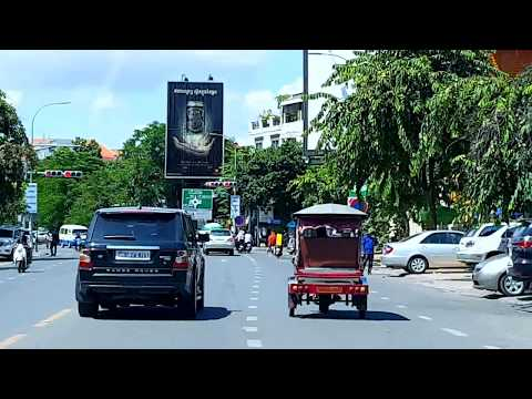 Asian Travel and Entertainment in Phnom Penh Capital, Cambodia