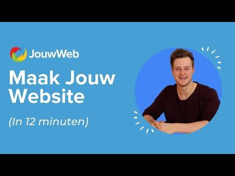 Volledige website maken in 12 minuten