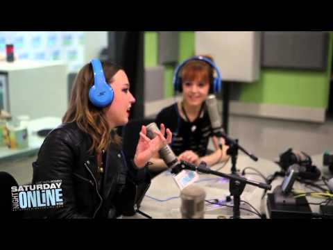 Lindsey Stirling and Lzzy Hale - Saturday Night Interview