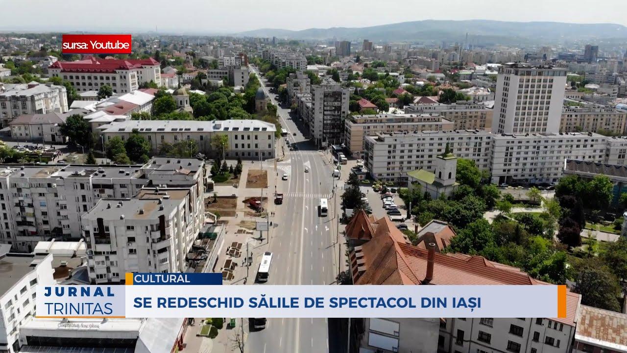 Se redeschid sălile de spectacol din Iași