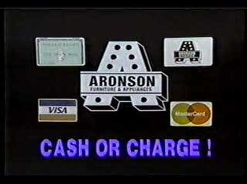 Aronson Furniture Commercial 1 1987 Youtube