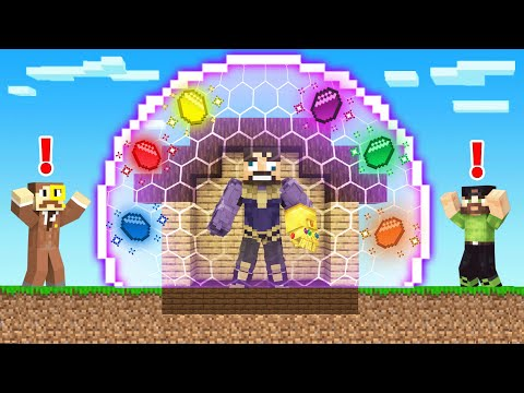 How To CRAFT an *INFINITY STONE SHIELD* in Minecraft (Insane Craft)