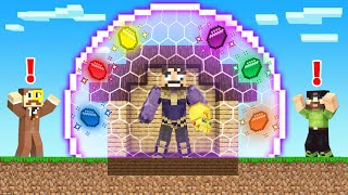 How To CRAFT aฑ *INFINITY STONE SHIELD* in Minecraft (Insane Craft)