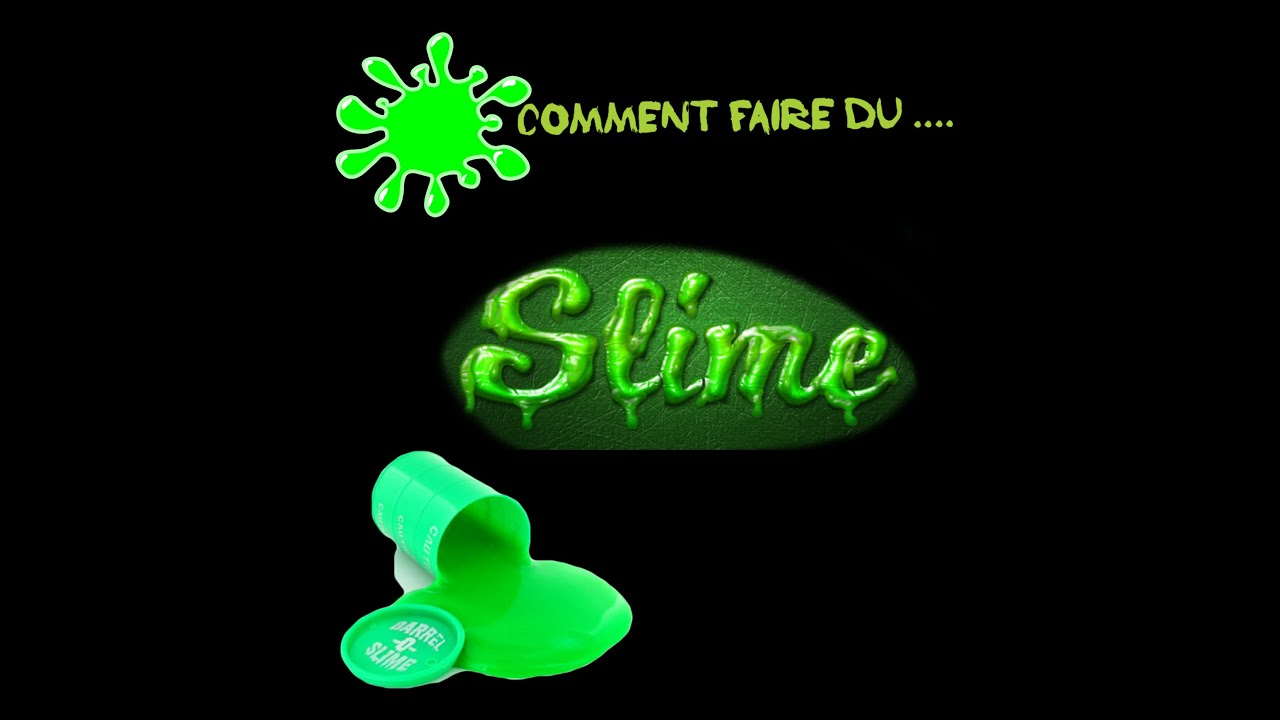 diy comment faire du slime youtube. Black Bedroom Furniture Sets. Home Design Ideas